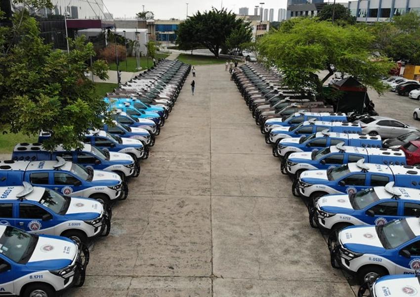50 novas viaturas são entregues às unidades da Polícia Militar da Bahia