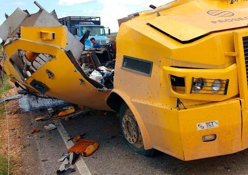 Ataques a carros-fortes aumentam 400% no estado, diz jornal