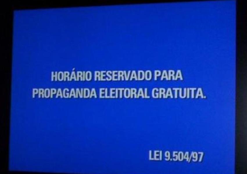 Propaganda eleitoral no rádio e TV começa nesta sexta