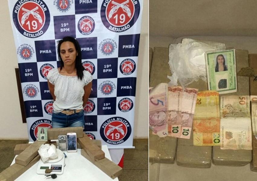 Jaguaquara: Polícia diz que apreensão de drogas efetuada no Entroncamento foi a maior do ano