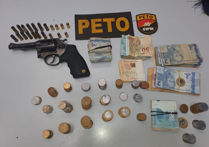 Polícia cumpre mandado de busca e apreensão contra homem de 35 anos em Rio do Pires