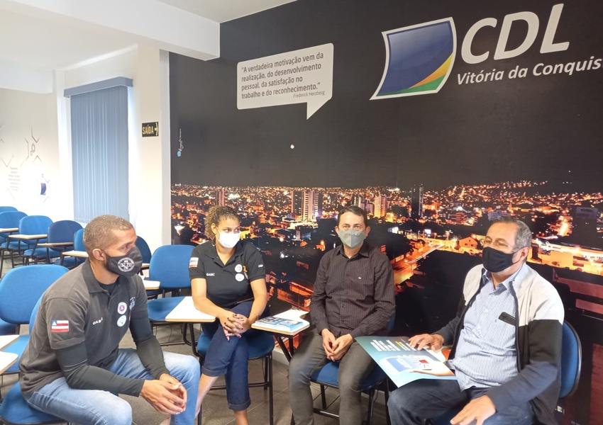 CDL de Vitória da Conquista inicia divulgação do Alerta Celular