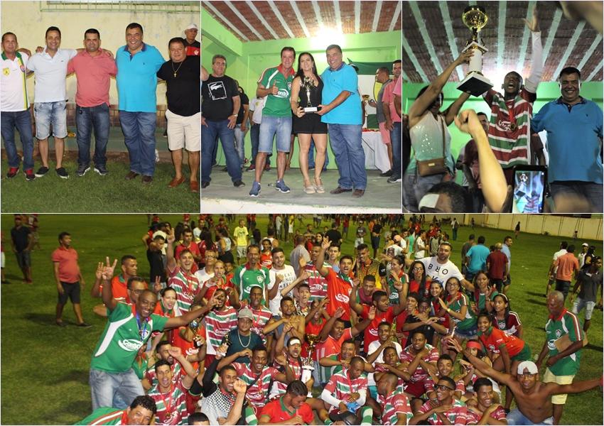 Livramento: Barrinha sagrou-se campeão do Campeonato Rural Livramentense 2019; prefeito participa da premiação