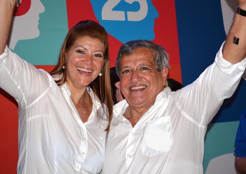 Filha de Benito Gama é cotada a vice de José Ronaldo