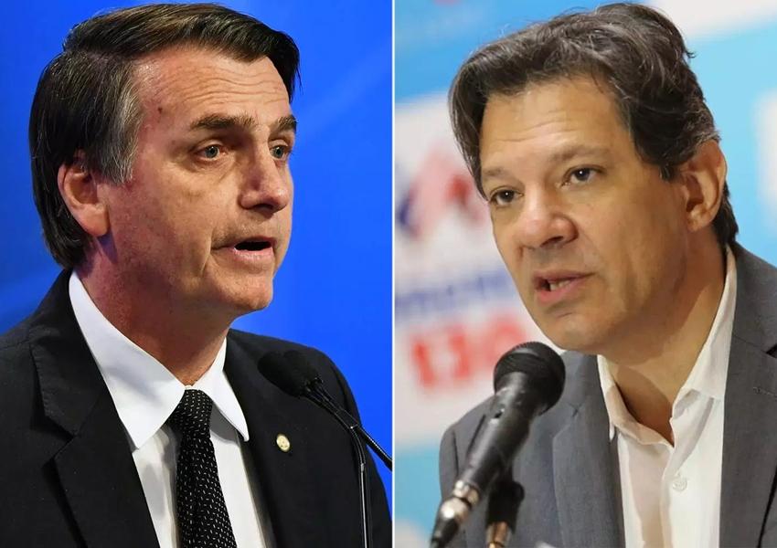 Bolsonaro e Haddad fazem apelo contra violência na campanha
