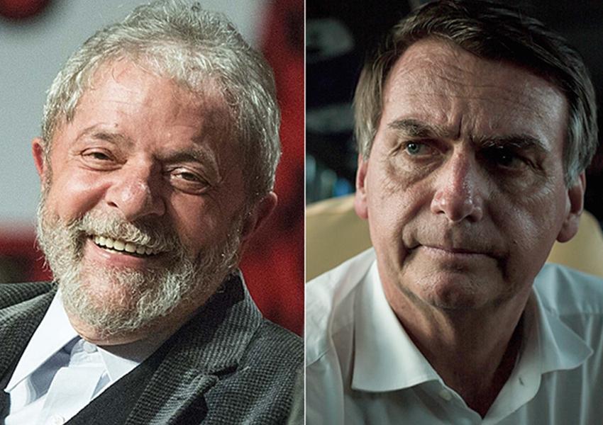 Lula segue na frente em nova pesquisa eleitoral; sem petista, Bolsonaro lidera