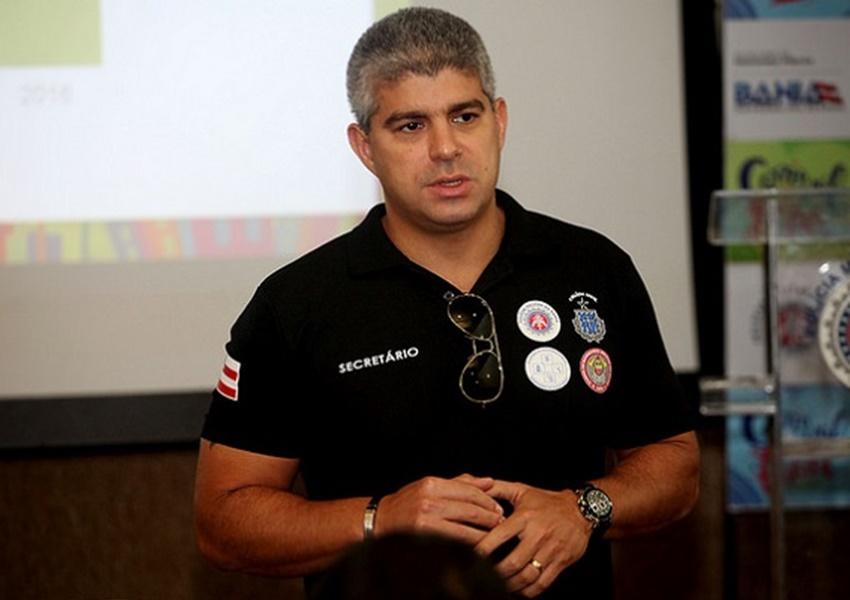 Maurício Barbosa, secretário de Segurança Pública, é alvo da Operação Faroeste