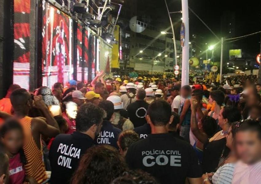 Polícia Civil terá 2,5 mil agentes em atuação do Carnaval da Bahia