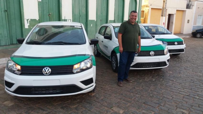 Livramento: Novos veículos são adquiridos pela Administração Municipal