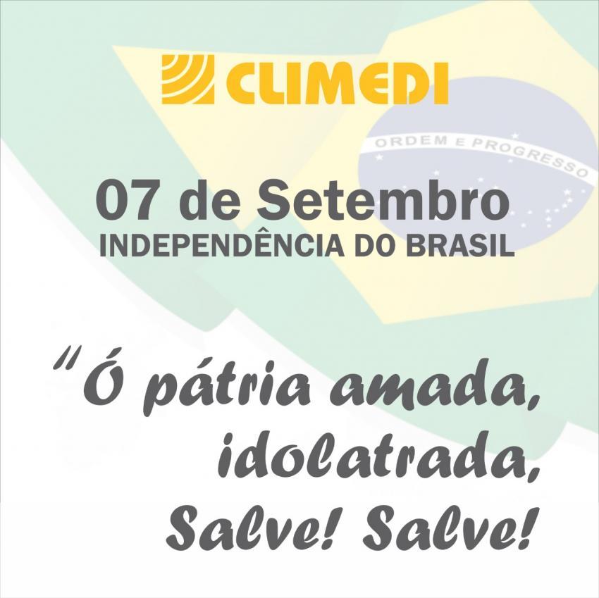 CLIMEDI: 7 de Setembro Independência do Brasil