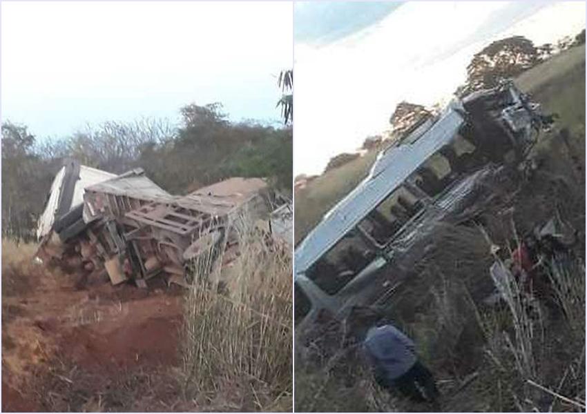 Correntina: Duas pessoas morrem e mais de 10 ficam feridas após batida entre carreta e van