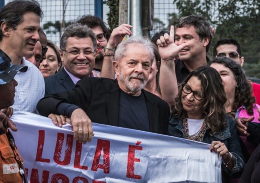 Lula para Luciano Huck: 'Me leva no Caldeirão'