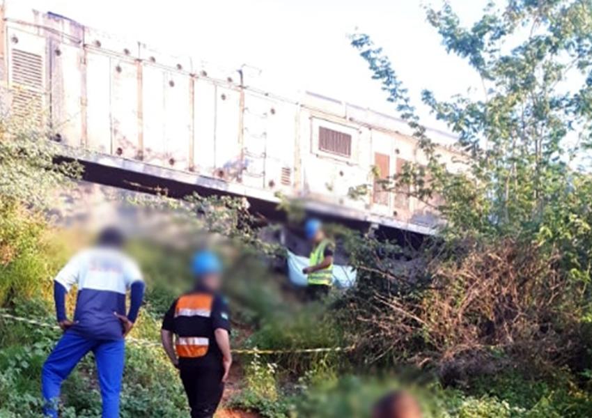 Malhada de Pedras: homem morre após ser atropelado por trem