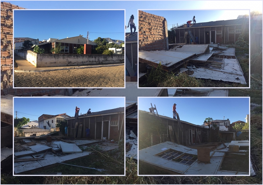 Livramento: Antigo Projeto Sertanejo começa a ser demolido; local será limpo