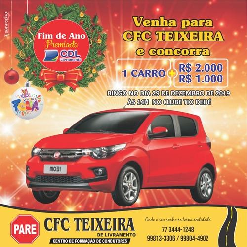 Venha para Auto Escola Teixeira e concorra a um carro 0km e 3 mil reais em dinheiro