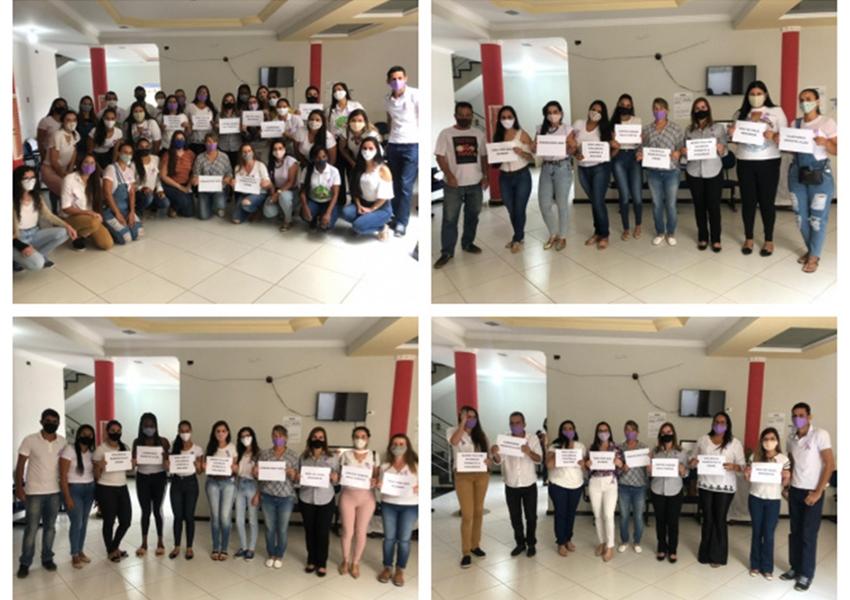 Creas Livramento promove campanha contra o Feminicídio