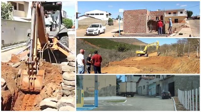 Livramento: Governo Municipal está realizando extenso cronograma de obras pelo interior do Município