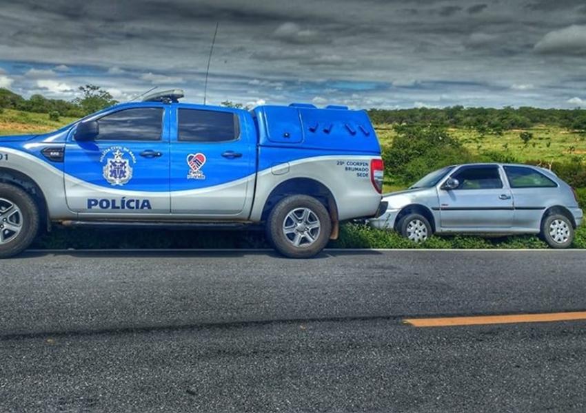 Brumado: Polícia Civil recupera veículo furtado em Guanambi