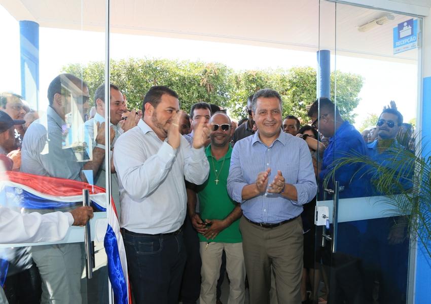 Em Boquira, Rui participa de reinauguração do Hospital Regional
