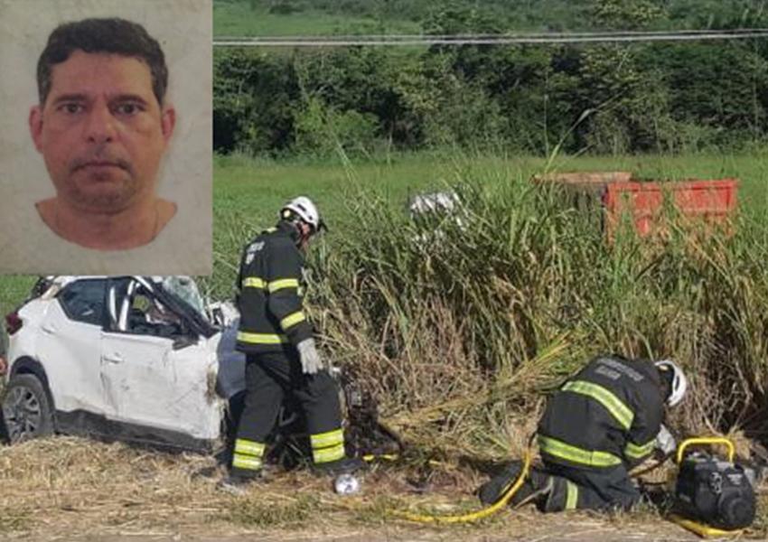 Acidente grave entre carro e caçamba mata médico na BR-330, entre Jequié e Jitaúna