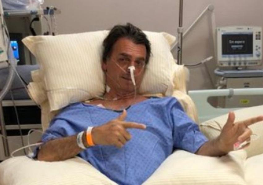Bolsonaro deixa UTI e faz primeira refeição no hospital