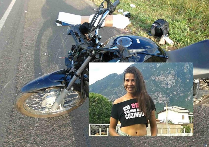 BA-262: Jovem que seguia de Vitória da Conquista para casa da Mãe em Livramento morre em grave acidente de moto