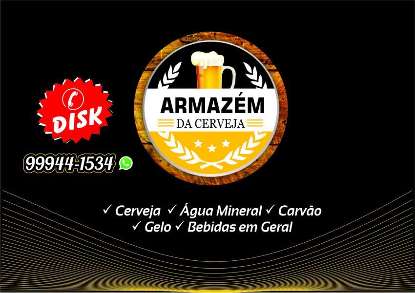 Conheça os serviços do Armazém da Cerveja em Livramento; Disk Entrega 77 99944-1534