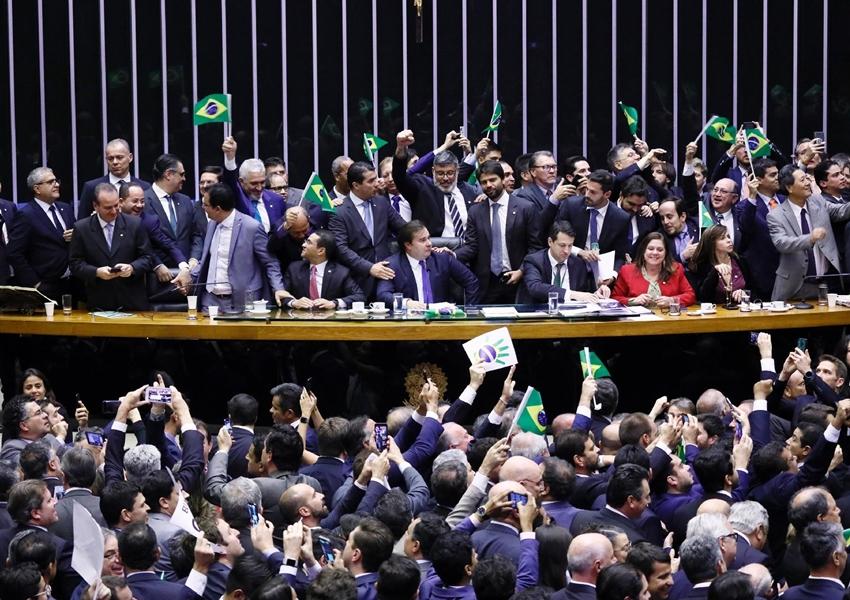 Câmara aprova em primeiro turno texto-base da reforma da Previdência