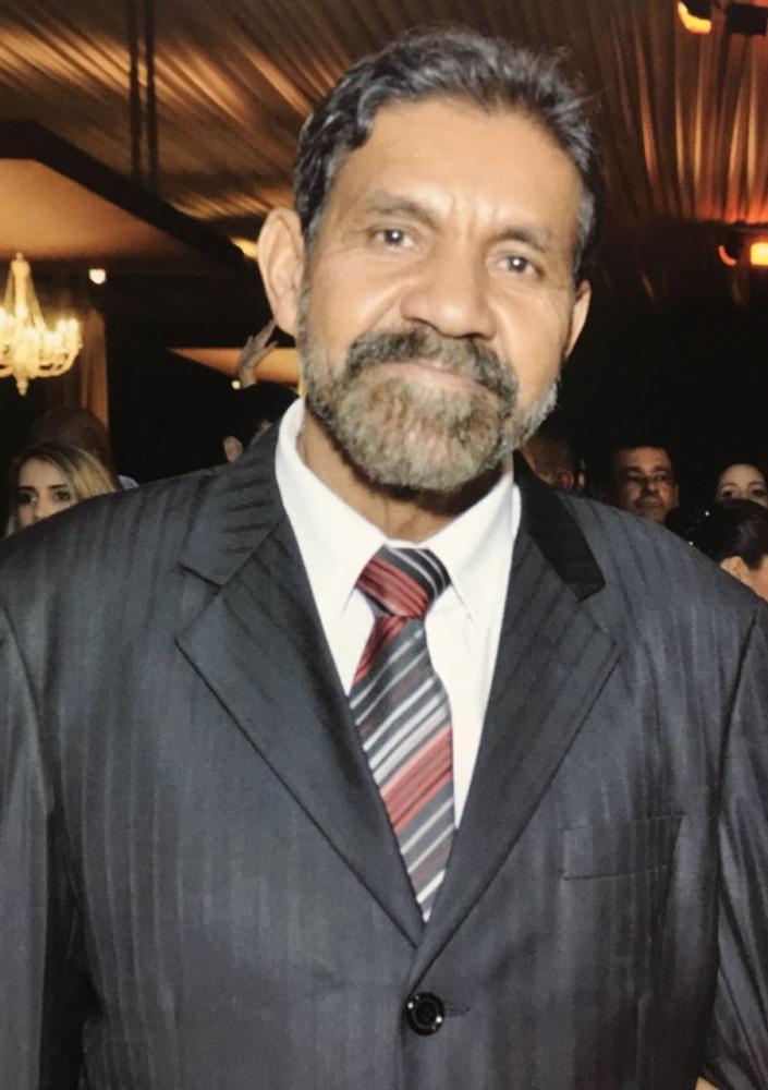 Familiares de Sr Daniel Alves de Brito prestam homenagem após 30 dias do seu falecimento