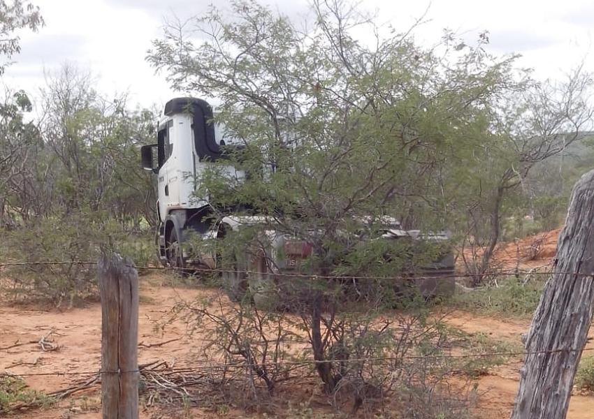 Carreta com placa de Brumado é roubada em Milagres e cavalinho abandonado em Anagé