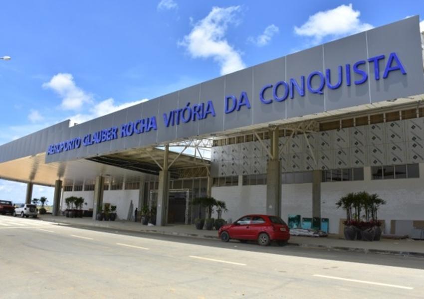 Aeroporto de Vitória da Conquista entra na última fase de obras físicas