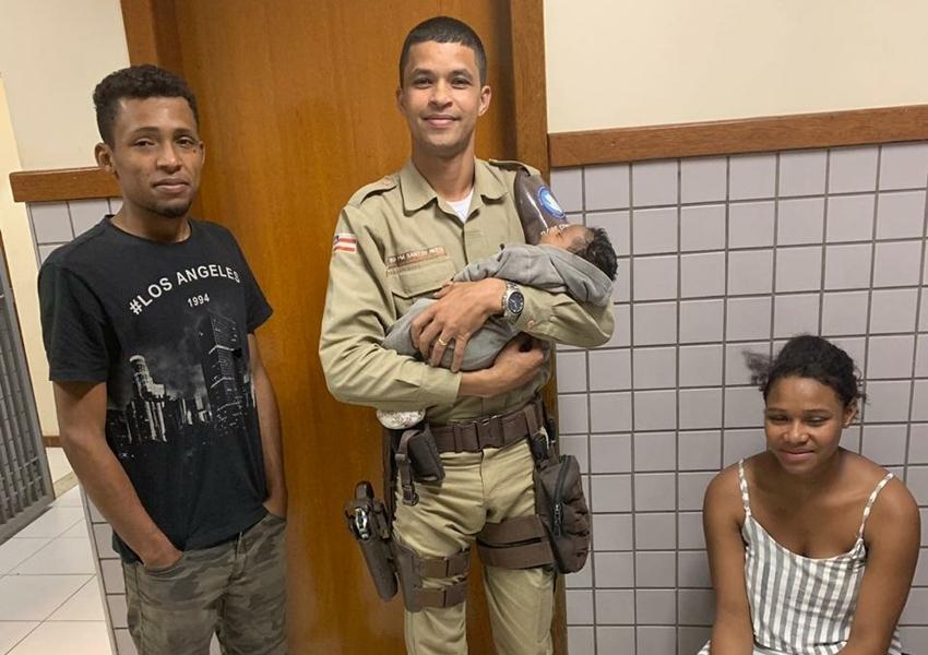 Atendimento rápido salva recém-nascido em Base Comunitária de Conquista