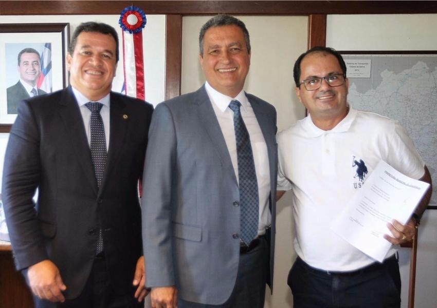 Após audiência com o governador Rui Costa, prefeito de Jussiape Éder Jakes anuncia investimentos para o município