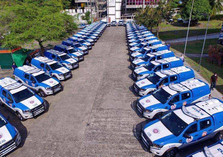 Governo entrega mais 49 viaturas para a PM e anuncia a convocação de 1,7 mil policiais militares