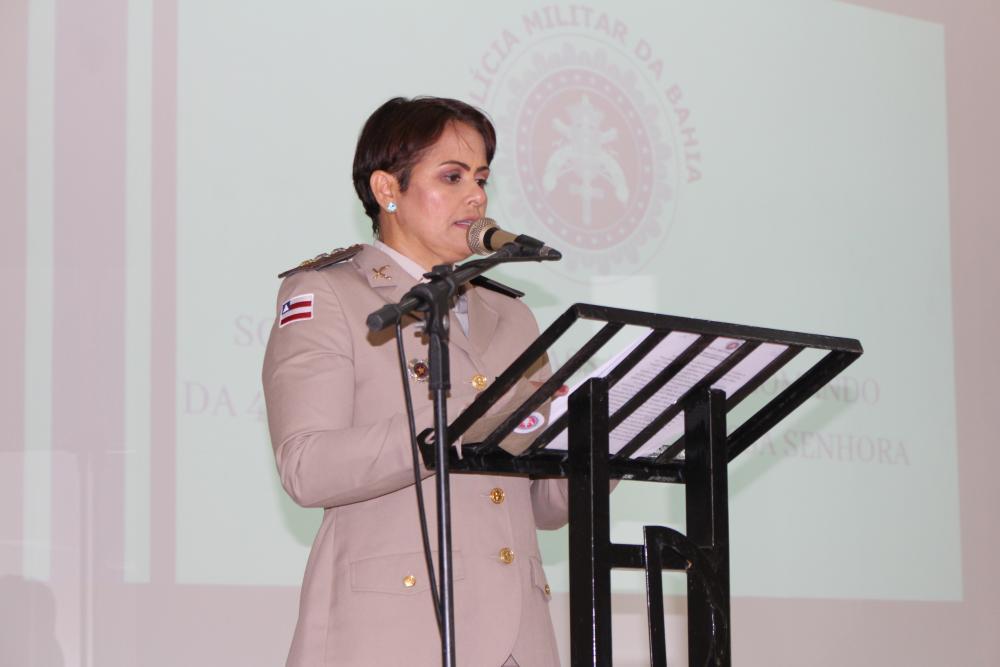 'A missão acabou, mas jamais irei abandonar e esquecer a gratidão' disse Cleise Delfino da Costa ao deixar o Comando da 46ª CIPM
