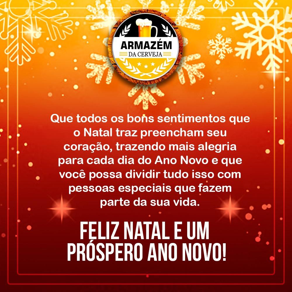 Armazém da Cerveja deseja a todos um Feliz Natal