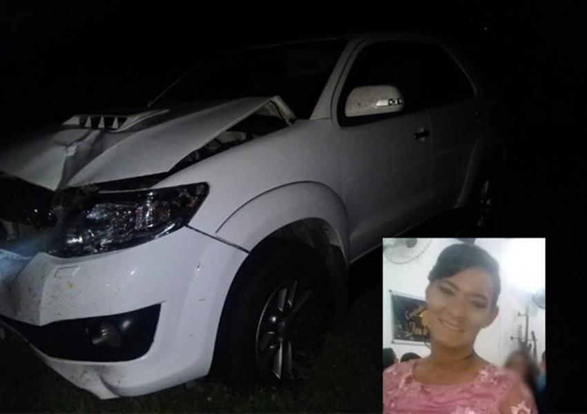Brumado: mulher morre após acidente envolvendo moto e automóvel na BR-030, próximo a Umburanas