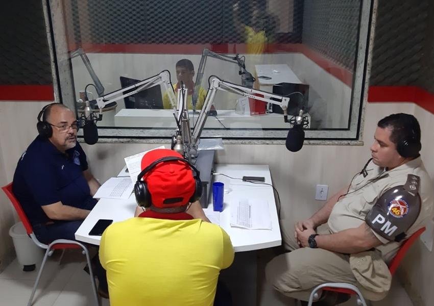 Em entrevista a Rádio 88 FM, Comandante da 46ª CIPM e Delegado de Polícia Civil falam sobre atuação das policias em Livramento em 2019