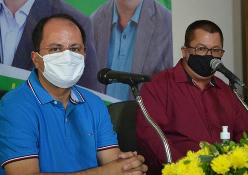 Convenção do PSD oficializa Éder como candidato a prefeito de Jussiape e Jadiel Mendes como vice
