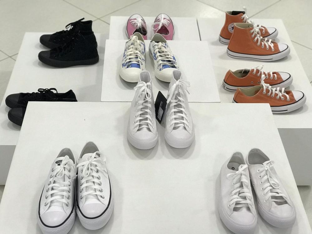 Elegance Calçados agora é revendedora autorizada dos calçados originais 'All Star'