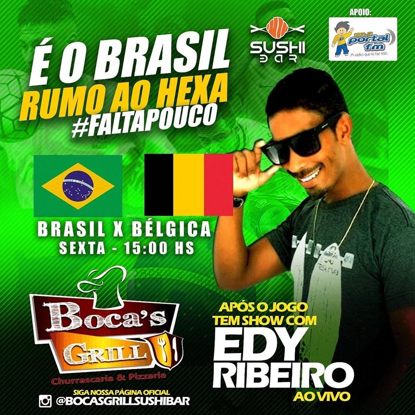 Portal FM e Boca's Grill é mais Brasil