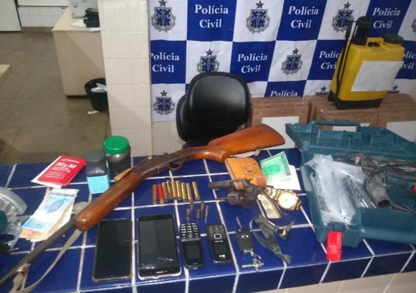 Polícia recupera veículos roubados durante operação em Aracatu