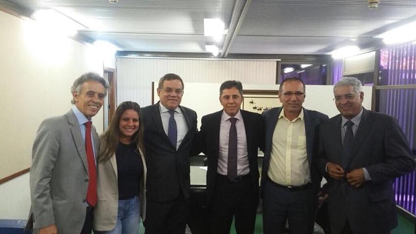 Deputado Luciano Ribeiro participa de reunião no TRE para tratar de assunto referente à Comissão de Divisão Territorial e transferência de zona eleitoral