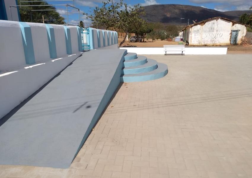 Livramento: Praça no distrito de São Timóteo será inaugurada neste sábado