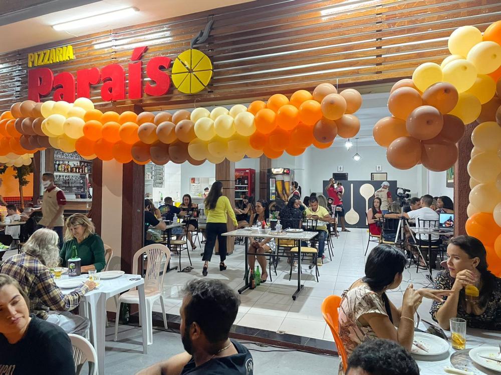 Pizzaria Paraíso é reinaugurada em grande estilo em Livramento