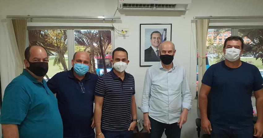 Em busca de recursos, deputado Marquinho Viana acompanhou prefeito de Ituaçu durante audiências em Salvador