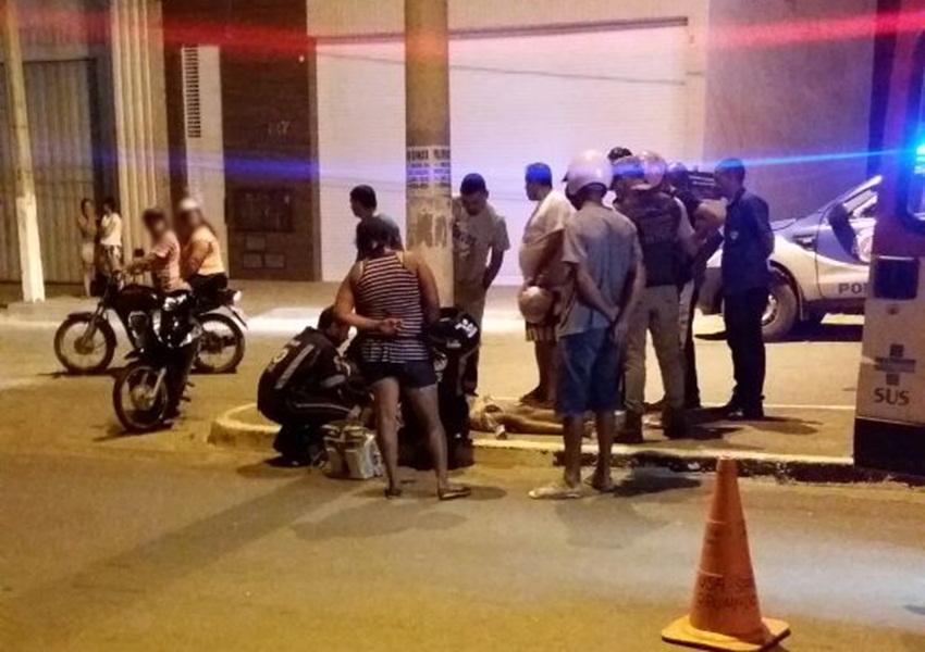 Brumado: homem morre após colidir moto contra poste na Avenida Lindolfo Azevedo Brito
