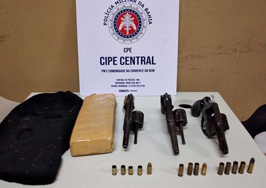 Dois traficantes morrem em confronto com a CIPE Central na região Sudoeste