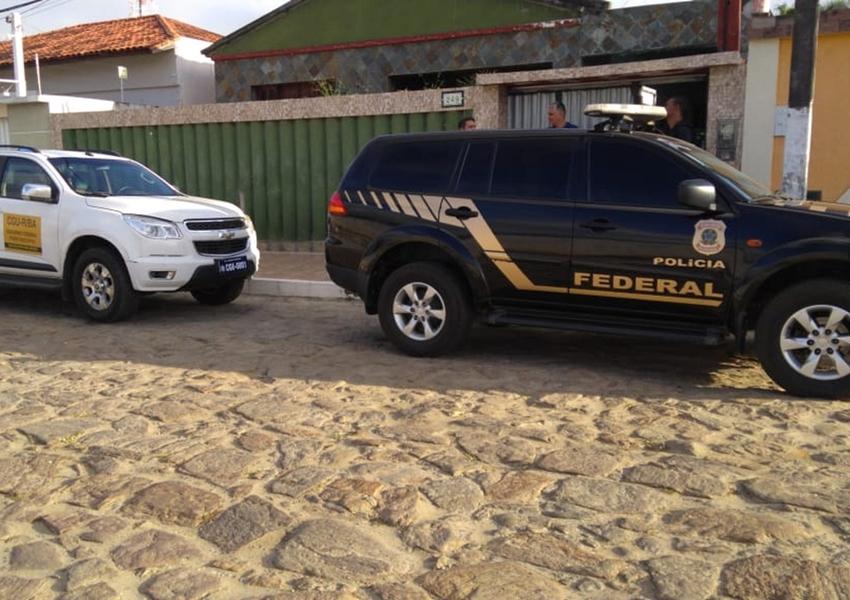 Operação da PF contra desvios de verba do Ministério da Integração Nacional cumpre mandados no sudoeste da Bahia