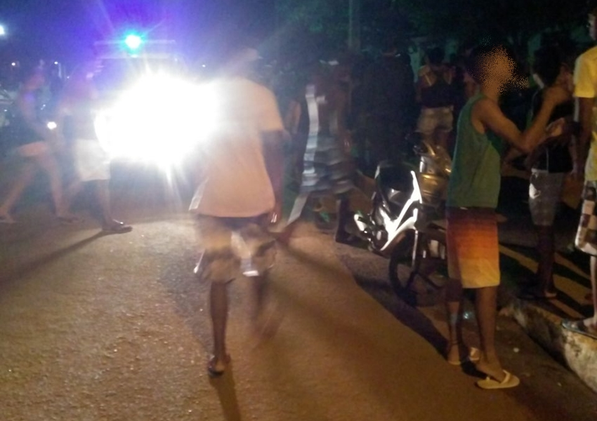 Livramento: Homem foi ferido a golpe de faca no Bairro Benito Gama; suspeito do crime foi detido